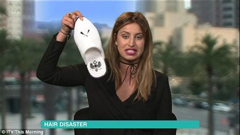ferne mccann presents this morning show  report on thirty minutes sleep daily mail online