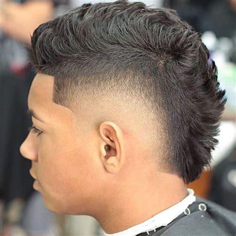 mohawk fade haircut mens haircuts hairstyles