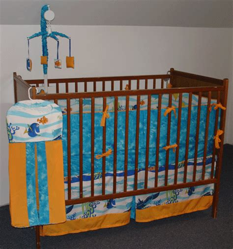 Finding Nemo Crib Bedding by Boutique Custom Finding Nemo Cri