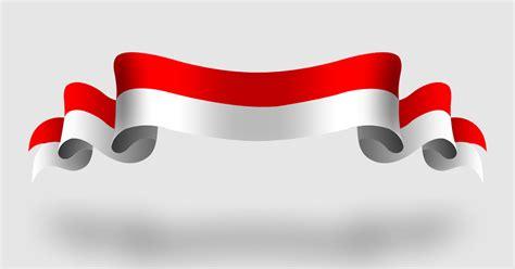 pita bendera indonesia vector cdr idn grafis