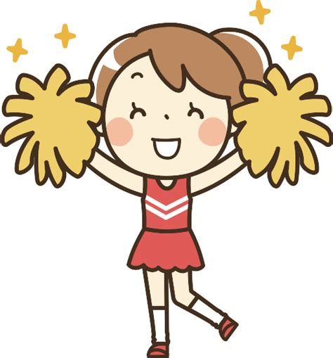 cheerleading clipart 1 remixed clipart design droide
