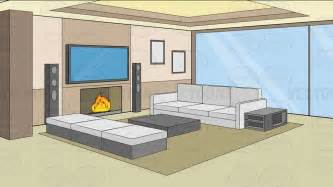 a modern comfy living room background cartoon clipart cartoon scene living room by diogoespindola on deviantart