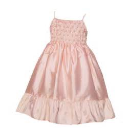 Smocked dresses pearl smocked ruffle flower