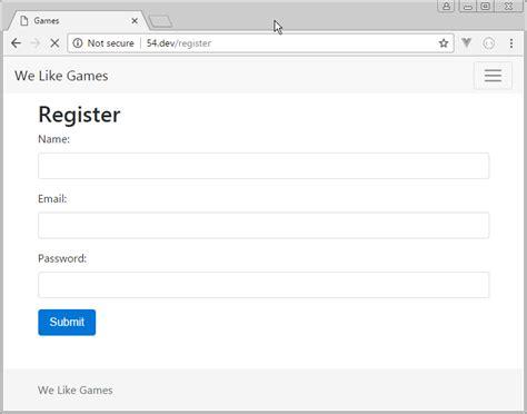 laravel register tutorial how to create user registration in laravel web