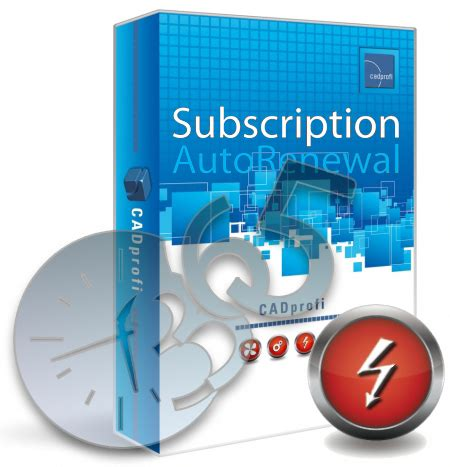 cadprofi electrical subscription autorenewal 365 slm