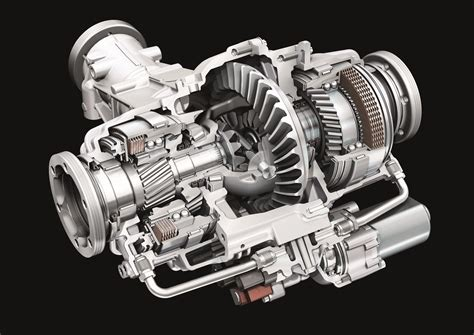 Audi Quattro Differential by Audi Quattro Sport Differential Cutaway Eurocar News