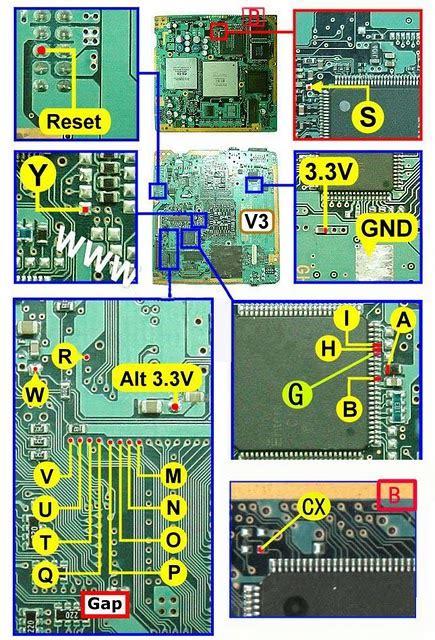 Harga Pasang Ic Matrix tip setting playstation 2 du playstation 2