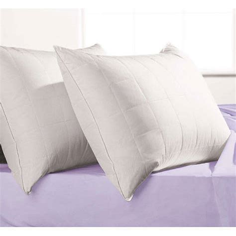 Microfiber Pillows by Microfiber Quilted Alternative Pillow Walmart