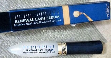 Harga L Oreal Renewal Lash Serum yenniedoll review l oreal renewal lash serum