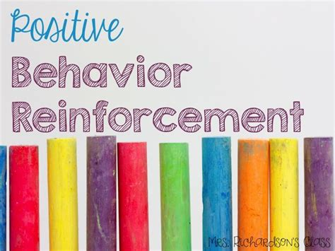 My New Simple Behaviors by Bright Idea For Positive Behavior Reinforcement Simple