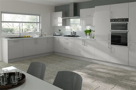 off white cabinetry paired with a glossy neutral tile 2016 s hottest kitchen trends kitchen door workshop