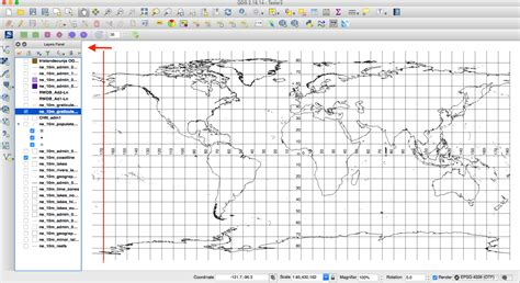 qgis projection tutorial qgis world map projection with solid russia 10 degrees