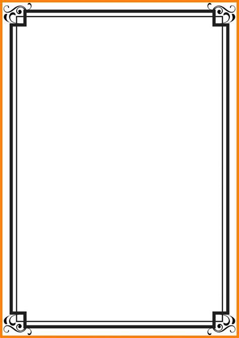 Black Letter Methodology 9 black border design for certificates cna resumed