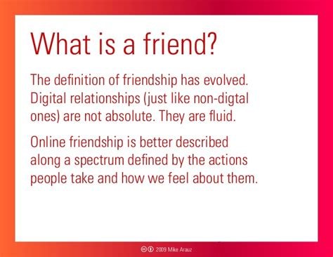 what is a what is a friend the
