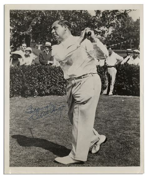 walter hagen golf swing lot detail golf great walter hagen 8 x 10 photo signed