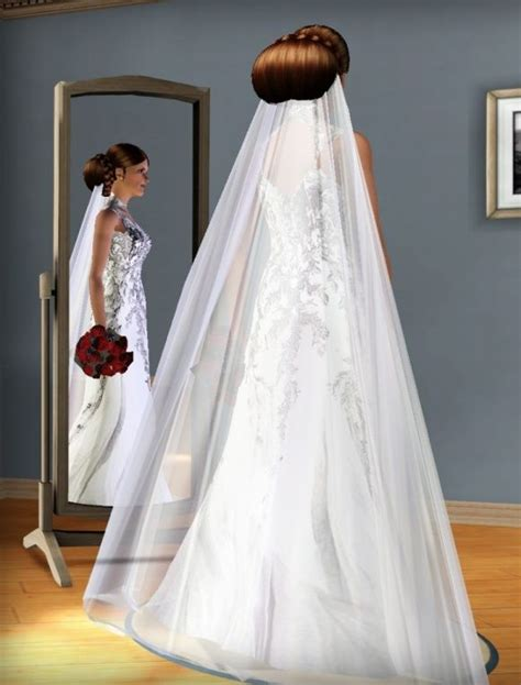 sims 3 wedding hair sims dress wedding clothes sims wedding pinterest