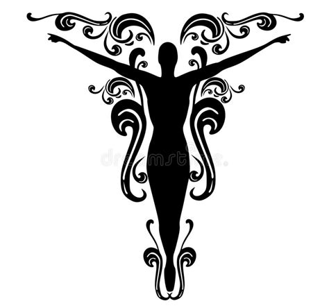 flourish tattoo designs flourishes design 3 stock illustration