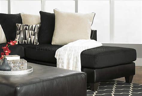corduroy fabric sectional 4500 sectional sofa in black corduroy fabric bi cast