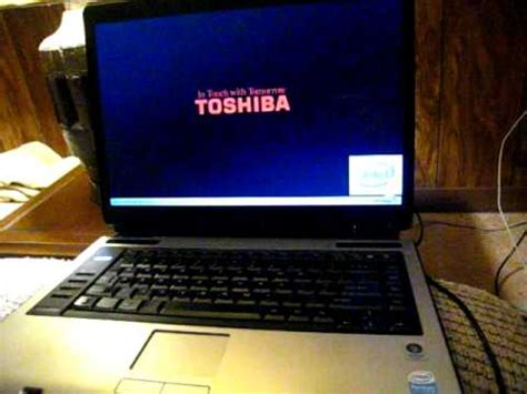 toshiba makes noise at startup