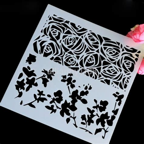 Handmade Stencils - uk layering stencils templates for scrapbooking drawing
