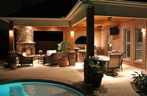 outdoor living contemporary patio houston by