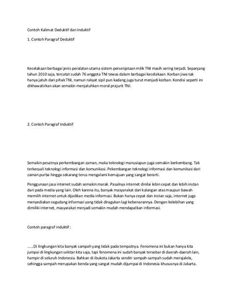 Contoh Artikel Argumentasi - Contoh Soal2