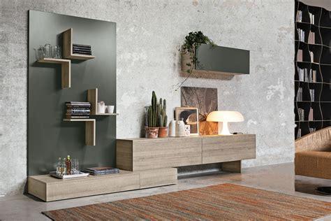 arredare una parete con mensole il sistema magnetika di ronda design mensole librerie e