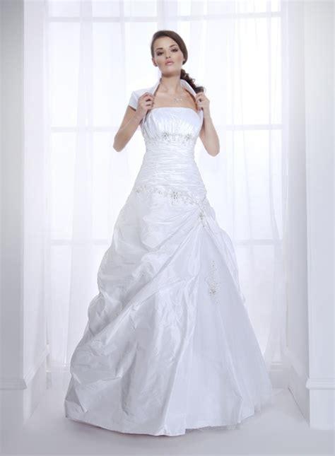 hochzeitskleid a linie taft brautkleid a linie kleiderfreuden