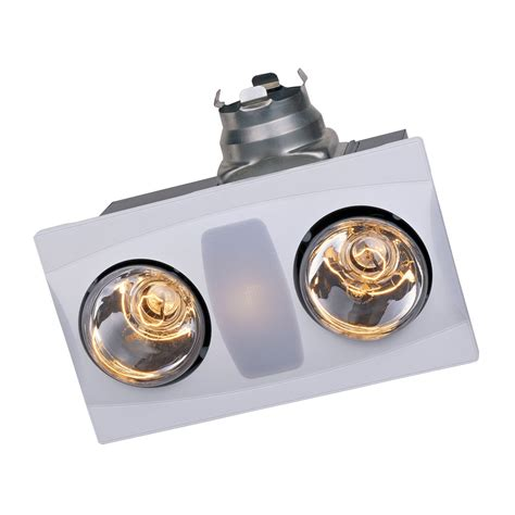 Aero Pure Llc A515a Combination Heater 2 Light Bathroom Bathroom Vent Heater Light