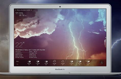 weather wallpaper for mac best mac weather apps that you must have on desktop mashtips