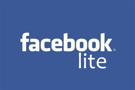 facebook lite facebook launched facebook lite app for slow internet