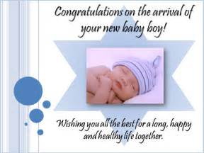 new baby boy messages greetings sms baby congratulations card messages 2014 wooinfo