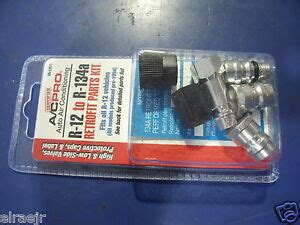 r 12 to r 134a all r12 systems retrofit conversion adapter fittings kit va lh11 ebay