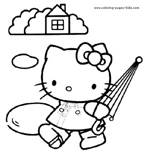 hello kitty nurse coloring pages hello kitty color page coloring pages for kids cartoon