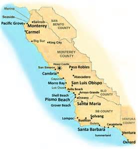 california coastal map ca pictures to pin on