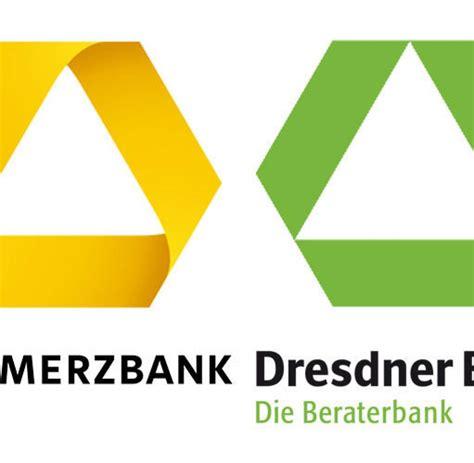 fusion dresdner bank commerzbank kreditinstitute commerzbank k 228 mpft mit der dresdner