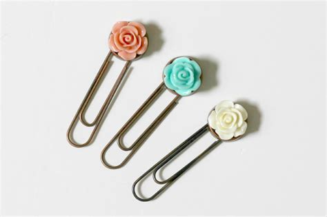 Decorative Paper Clips   Organize and Decorate Everything