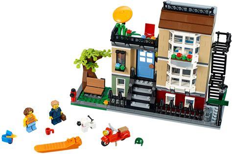 City Set 3 lego creator sets 31065 park townhouse new