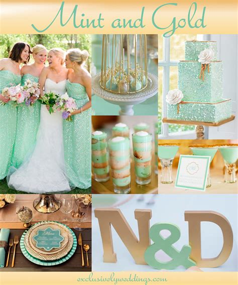 Wedding Mints by Your Wedding Color Pair With A Metallic For Stunning