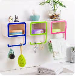 storage bins for bathroom creative number 9 storage soap rack plastic boxes suction