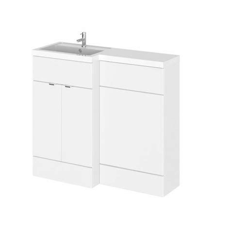 Combination Bathroom Furniture 1000mm Combination Bathroom Furniture Vanity Unit Colour Options Buy At Bathroom City