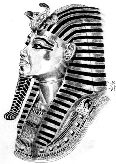 hairstyle and fashion king tutankhamun