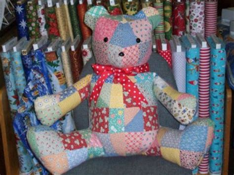 How To Make A Patchwork Teddy - patchwork teddy