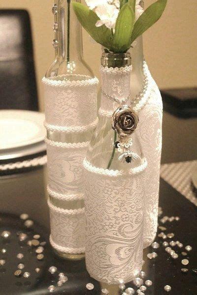 decorative bottles set decorated wine bottle