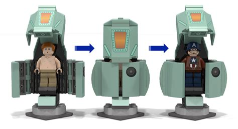 Lego Captain America Robot Eima lego ideas captain america birth of a soldier