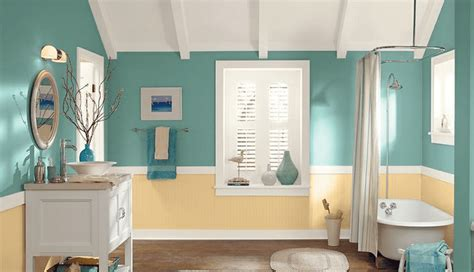 best blue paint color for bathroom 7 great colors for painting bathrooms