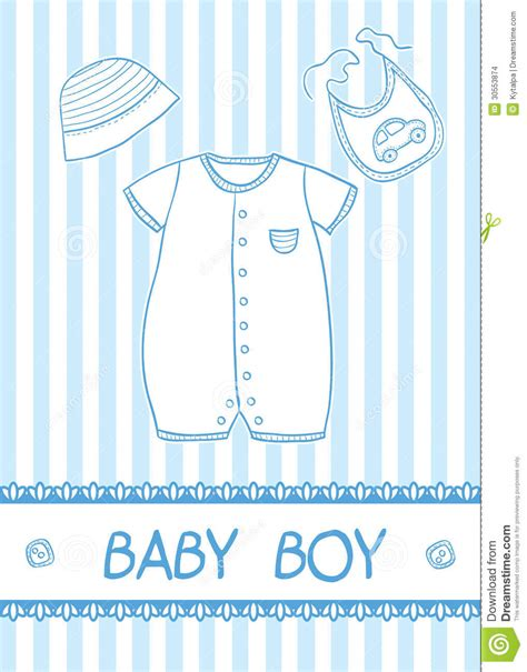 baby boy template card baby boy card stock vector image of design birthday