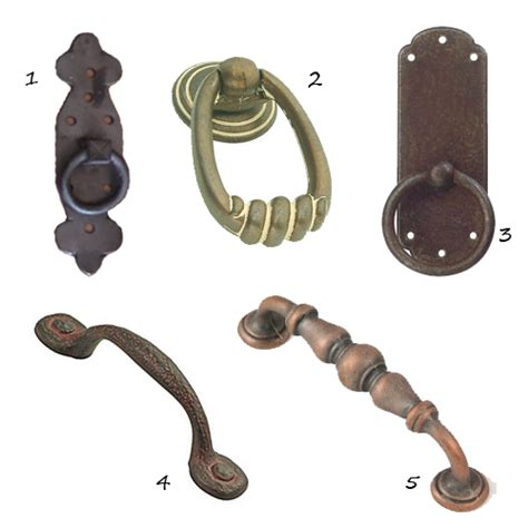 rustic cabinet hardware nomadic decorator
