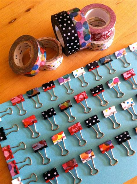 washi tape craft ideas 50 best washi tape crafts