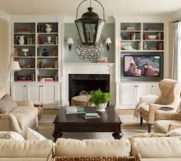 Room fireplace tv built in shelving built ins flanking fireplace